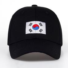 TUNICA 2017 New Korean Version of GD Baseball Cap Flag Of Korean Hat Cotton Snapback Hip