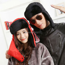 Free Shipping 2015 New Sport Outdoor Faux Fur Men Winter Warm Fur Trapper Hats Russian Bomber Hats Caps With Mouth Mask Ski Cap