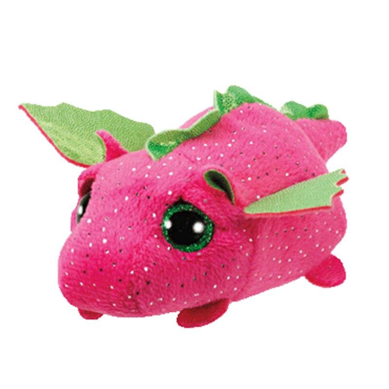 Stackable Plush Stuffed Toy 3 Inch NEW Ty Teeny Tys ~ DORK THE EMOJI MOVIE