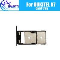 OUKITEL K7 лоток держателя карты 100% оригинал Новый высокое качество лоток сим-карты SIM карт памяти держатель Repalcement для OUKITEL K7