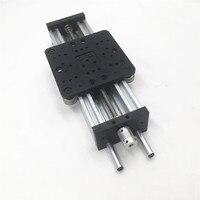 Funssor 3D printer C beam DIY 250mm NEMA 23 c beam Z axis kit TR8*8 lead screw XLarge Linear Actuator Bundle