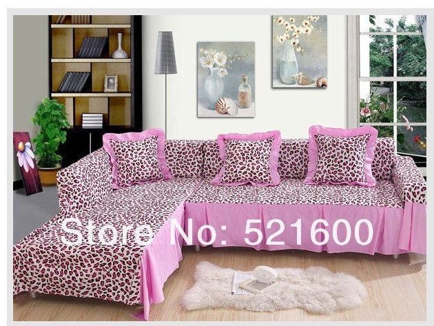 Hot Pure Cotton Twill Printed Sofa Cover Cushion Slip