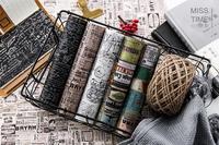 1 рулон/lot Винтаж европейский бренд Васи Клейкие ленты, широкий Ретро штамп Васи Клейкие ленты для Скрапбукинг
