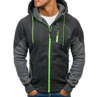 Brand 2019 Men Sets Zipper Cardigan Hooded Men Fashion Tracksuit Male Sweatshirt Hoody Mens Purpose Tour 3XL