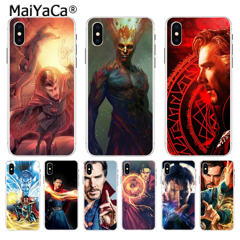 Half-wrapped Case Reasonable Maiyaca Marvel Doctor Strange Special Offer Vertical Phone Case For Apple Iphone 8 7 6 6s Plus X Xs Max 5 5s Se Xr Mobile Cover Cellphones & Telecommunications