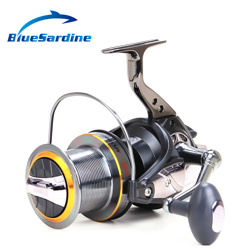 New Metal Spinning Fishing Reels Distant Wheel Large Trolling Spinning Reels 8000 9000 10+1BB 4.7:1 Fishing Tackle our distant cousins