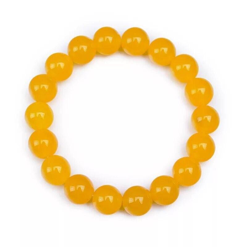 8-10MM φυσικό αχάτη κεχριμπάρι - Κοσμήματα - Φωτογραφία 4