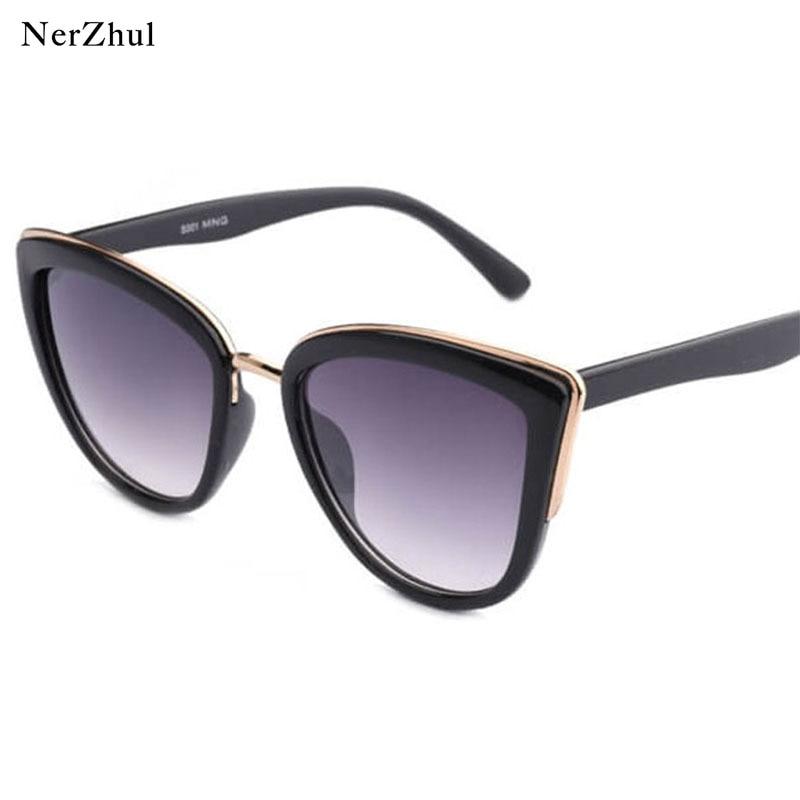 Retro Black Cat Eye Sunglasses Women Fashion Leopard Lunette Sunglasses Women's Travel Tortoise Shades Sunglasses Woman
