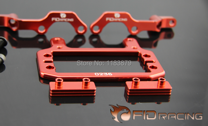 FID NEW Accelerator Steering Servo Strengthen Base FOR LOSI 5IVE-T Free shipping billet rear hub carriers for losi 5ive t