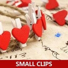 Специальные Новые корейские канцелярские товары Любовь Маленький милый маленький деревянный зажим/папки Сообщений реквизит для фотосъемки