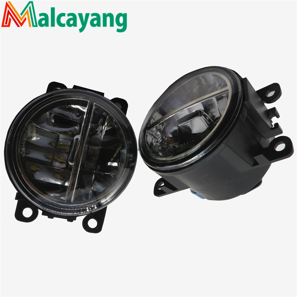 1set Car-styling LED fog lamps10W high brightness lights For Ford Tourneo Fusion Fiesta C-Max FOCUS GRAND TOURNEO AUSTRALIA 2001 2 pcs set for ford tourneo fusion fiesta c max focus grand tourneo australia 2001 2015car styling led fog lights general