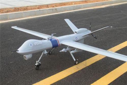 US $1141 2 10% OFF|MQ 9 UAV Scale Predator of Fiberglass/Balsa Construction  FPV/UAV Composite Platform MQ9 Reaper KIT-in RC Airplanes from Toys &