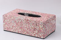 Full diamond winding paper barrel Home Furnishing diamond stick box diamond decoration supplies box