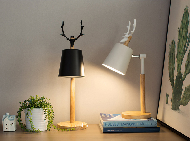 2019 Office Book Desk Lamp Modern Table Lamps For Bedroom Eye Protection  Reading Table Lamp Dormitory Study Led Lights Child Bedside Desk Lamp From  ...