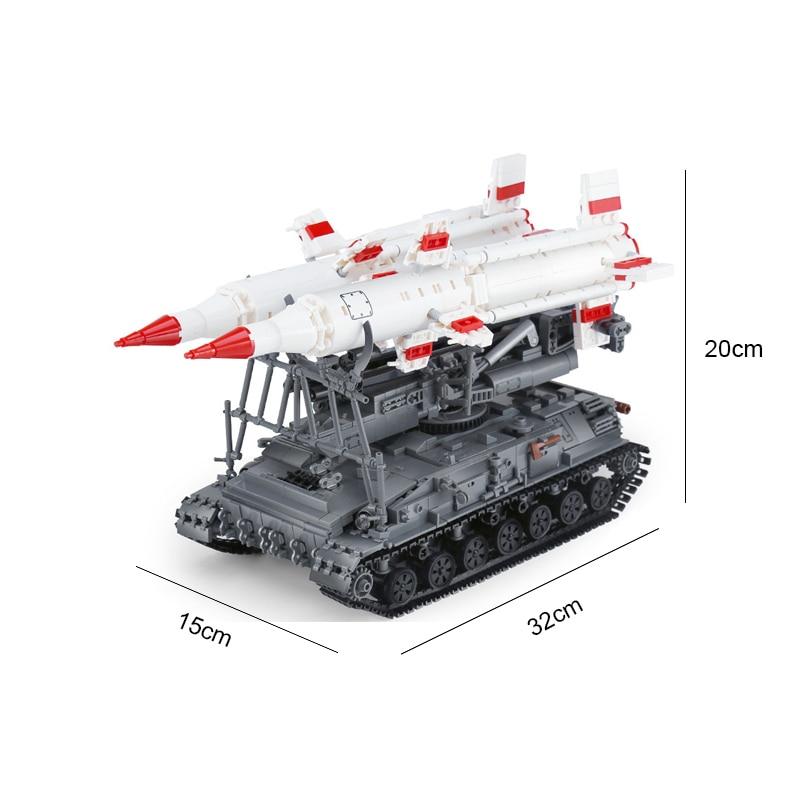 Oyuncaklar ve Hobi Ürünleri'ten Bloklar'de Yapı Taşları Uyumlu Marka 1469 Adet Askeri Serisi SA 4 GANEF Tankı Silah Figürleri MOC Tuğla Oyuncaklar Yetişkinler Için Hediyeler'da  Grup 3