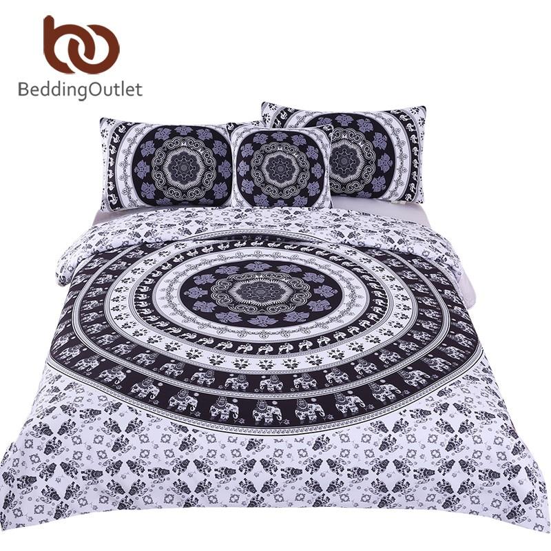 BeddingOutlet Bohemia Bettwäscheset Vanitas Modern Bedclothes Indian - Haustextilien