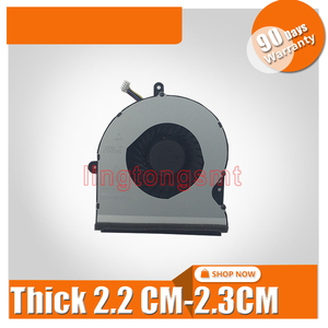 Novo processador central gpu grosso 2.2-2.3 cm ventilador mais frio para For Asus rog g751 g751j g751jt g751jy dc 12 v 0.40a