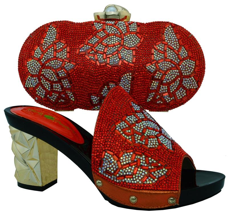 Tasche Rot Hochzeit High Cm Strass party Schuhe Ferse Dame Und 10 5 8 Für Muster Sandale Mit Bch Rot Class YRRq51