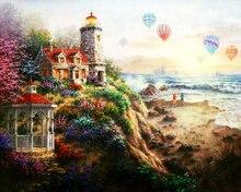 "DIY Painting By Number – Landscape (16""x20"" / 40x50cm)"