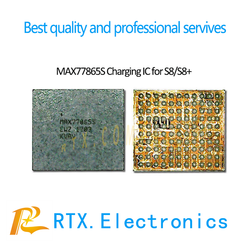 Brand New MAX77865S Charging IC PM IC For SMAUSNG S8 G950 G955 G950F G955F S8+ S8Plus USB Charger IC Small Power Supply IC Chip