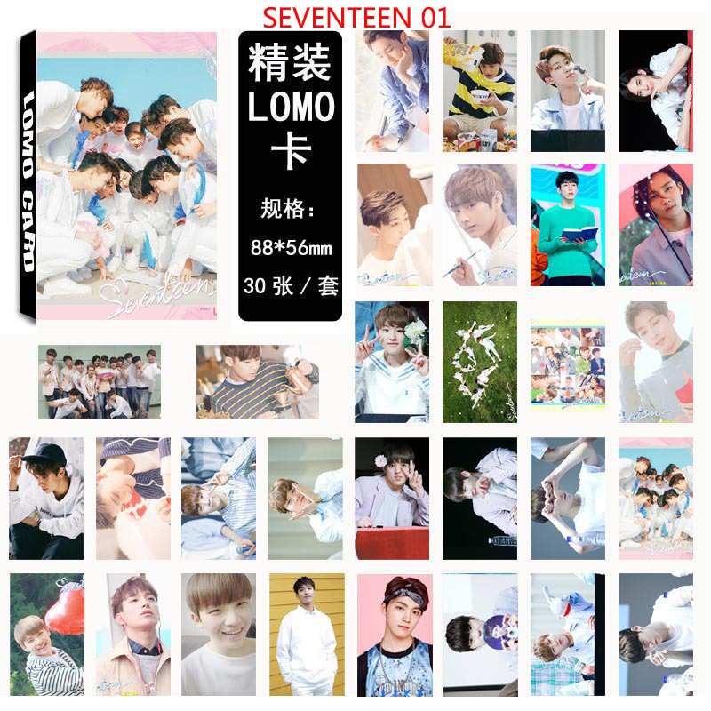 Beads & Jewelry Making Seventeen Dino Hoshi Mingyu Vernon Style Love&letter Homemade Lomo Box Cards 30 Pieces Of Each