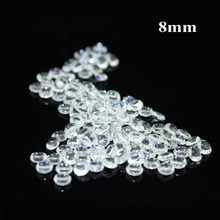 1000 PCs Clear Acrylic Confetti Beads For Marriage Party Decal