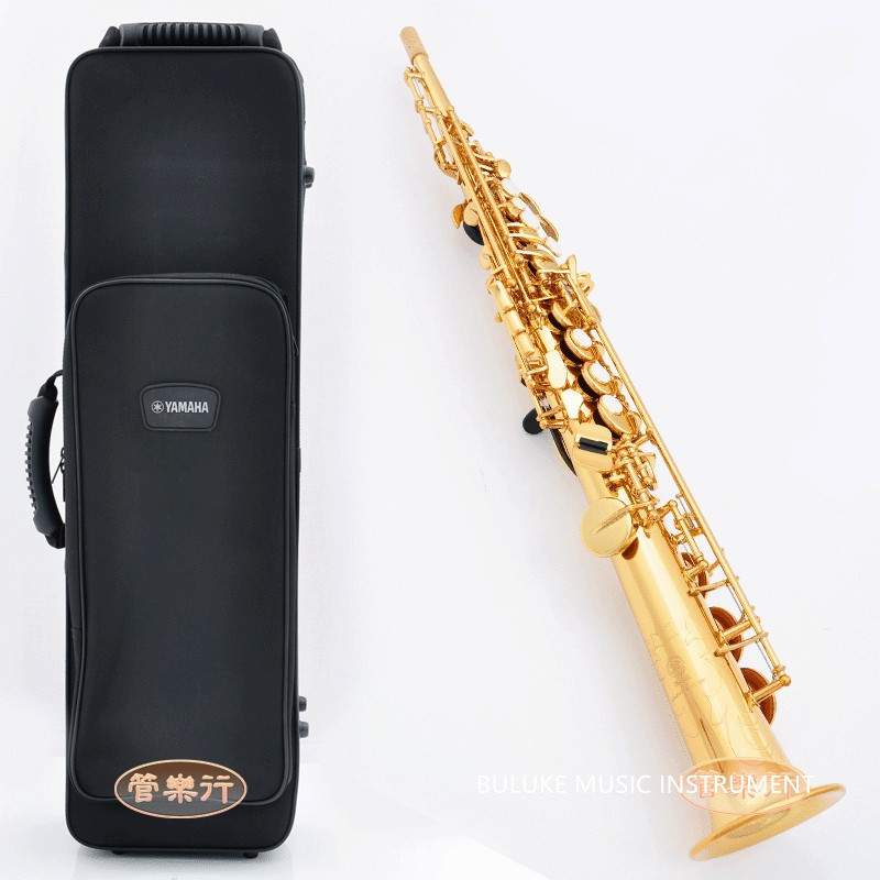 Soprano Saxophone YSS-475 B flat playing professionally one straight Top Musical Instruments Free shipping professional grade brand new soprano saxophone yss 475 bronze b flat playing professionally one straight top musical instruments professional grade