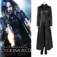 Underworld: Blood Wars Cosplay The Vampire Female Warrior Selene Costume Women Carnival Cosplay Costume Leather Suit Customize