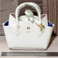 Autumn And Winter Black White Sailor Moon Luna Artemis Hand Bag Samantha Vega Handbag Cat Ear