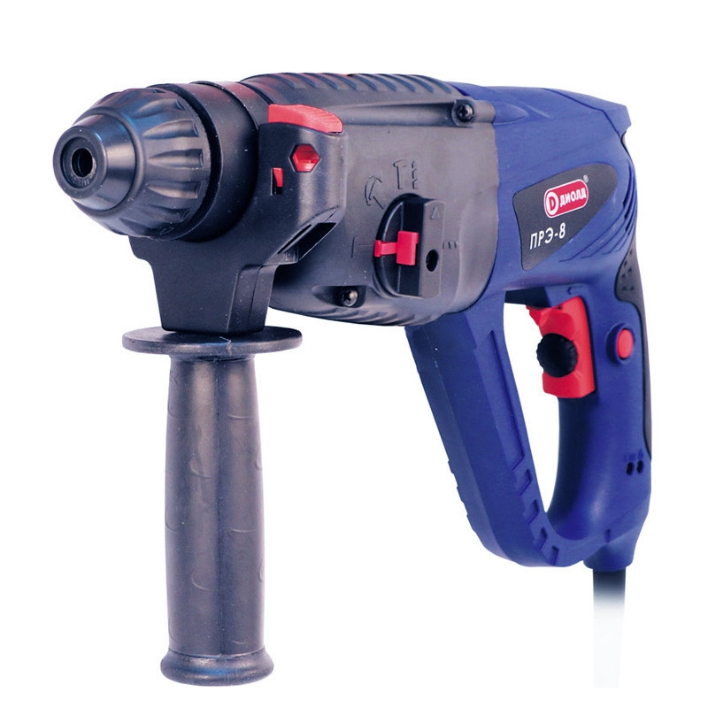 Electric hammer drill Diold ПРЭ-8 (Power 1100 W, speed from 0 to 1000 rpm type drill chuck SDS +) machine drill sturm bd7045 power 450 w cartridge from 0 to 16mm speed from 280 to 2350 rpm