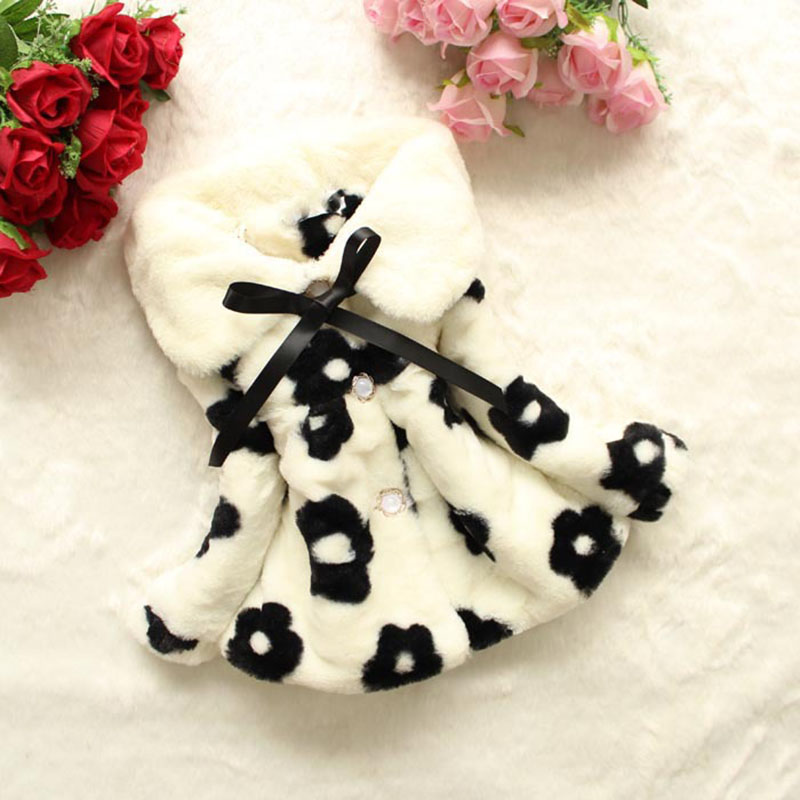 Girls Autumn Winter Coats Casual Cute Toddler Clothes Baby Girl Fashion Outerwear Kids Thicken Warm Coats Children Clothing fashion brand autumn children girl clothes toddler girl clothing sets cute cat long sleeve tshirt and overalls kid girl clothes