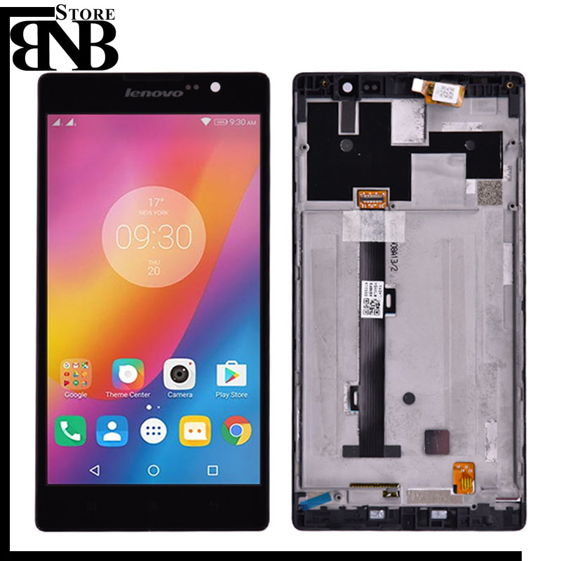 5.5 Lenovo K80 K80M P90 LCD Display and Touch Screen Digitizer Assembly With Frame For Lenovo K80M LCD Display Replacement5.5 Lenovo K80 K80M P90 LCD Display and Touch Screen Digitizer Assembly With Frame For Lenovo K80M LCD Display Replacement