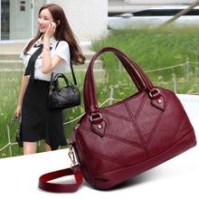 YILIAN 2009 New Soft Leather Handbag Fashion Single Shoulder Slant Bag Large Capacity Lady SS2657
