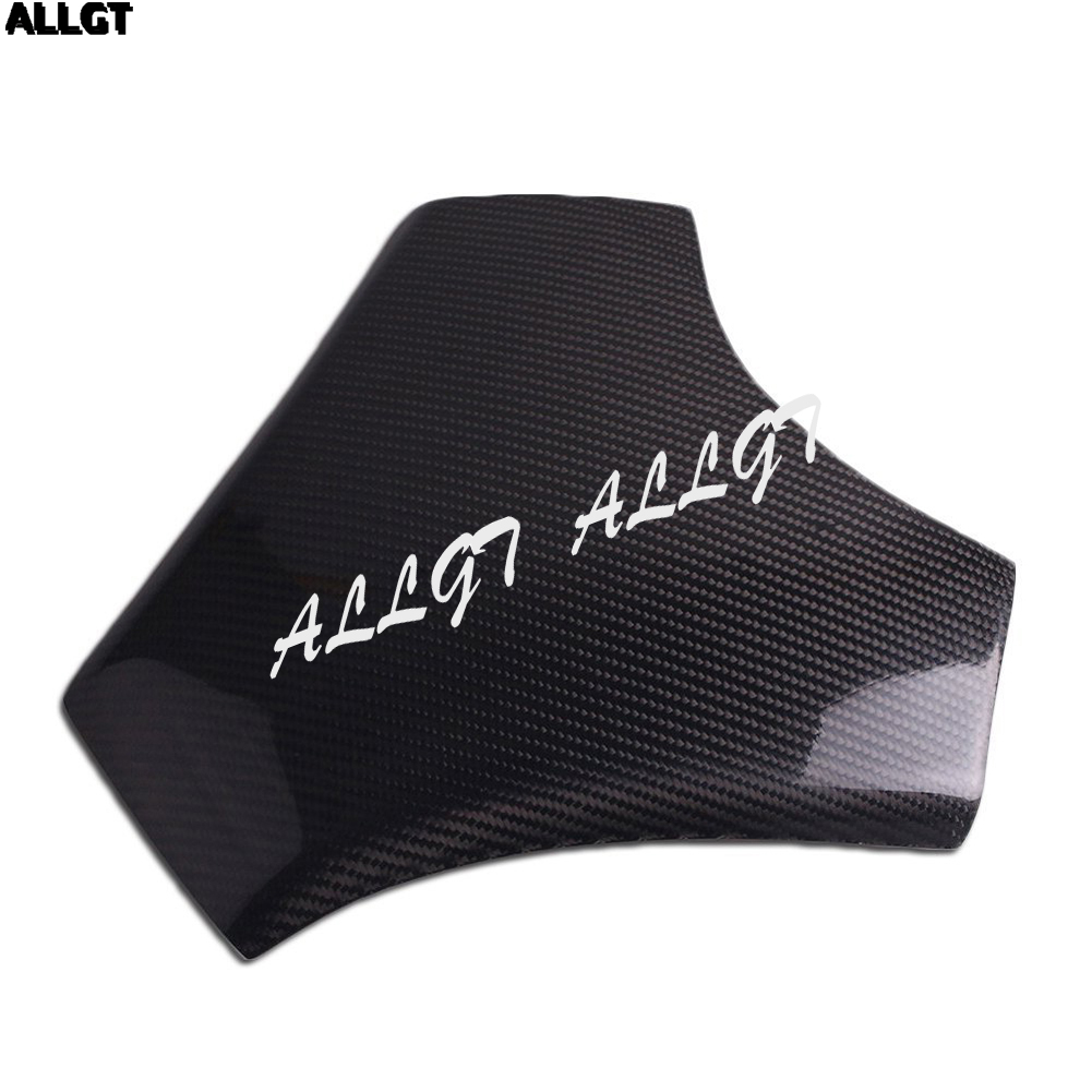 ALLGT New Carbon Fiber Fuel Gas Tank Cover Protector For Honda CBR1000RR 2008 2009 2010 2011 arashi radiator grille protective cover grill guard protector for honda cbr1000rr cbr 1000 rr 2008 2009 2010 2011