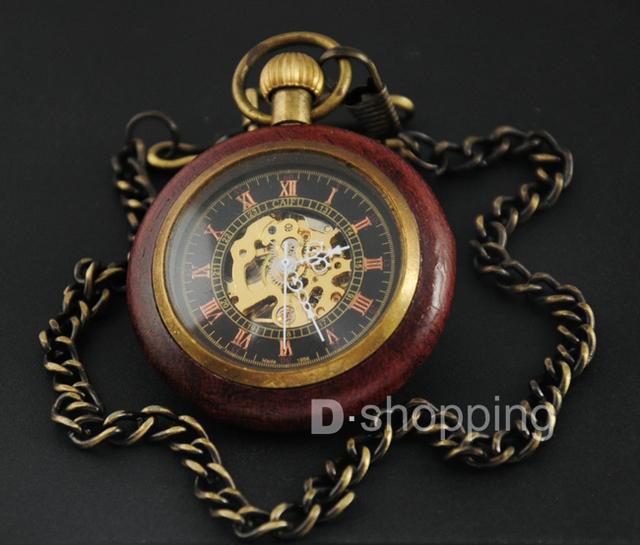 Old Merlin – Mechanical Steampunk Pocket Watch