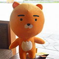 "[PCMOS] 2017 Korea Cartoon Kakao Talk Friends Cute Character Ryan 15"" Plush Toy Stuffed Doll Child Gift Arcade Prizes 16061615"