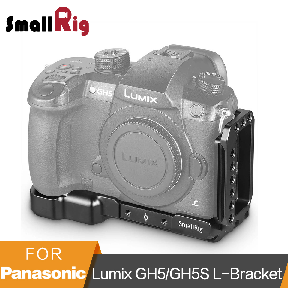 SmallRig GH5 L Bracket Plate for Panasonic Lumix GH5 GH5S Arca Swiss Standard L Plate Mounting