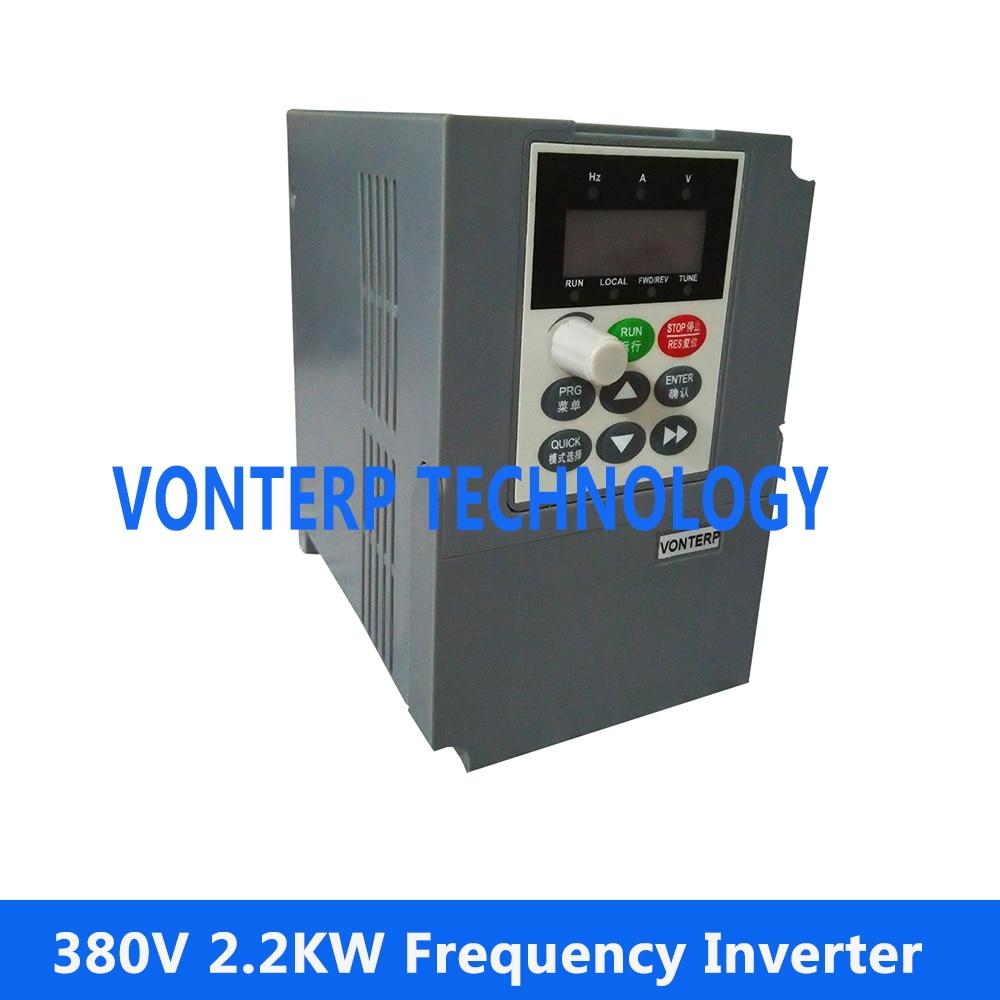 Frequency converter 2.2kw 380v 2.2kw three phase delta vfd5a5ms43ansaa three phase frequency converter 380v 3ph