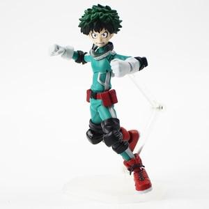 Image 3 - 15cm Figma 323 Midoriya Izuku Action Figure Mijn Hero Academia Anime Model Speelgoed Kinderen Gift