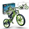 Bicicleta building block set Compatible con Pasatiempos Educativo Legoe bicicleta mtb de la bicicleta 3D de Construcción de Ladrillo Juguetes para Niños 6959