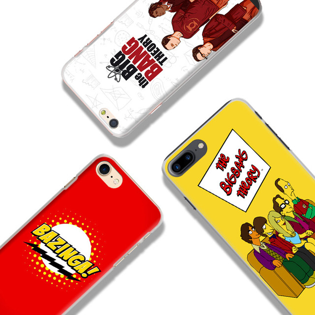The Big Bang Theory TBBT  Phone Case For  iPhone 7plus 7 6splus 6s 6plus 6 5 5s se