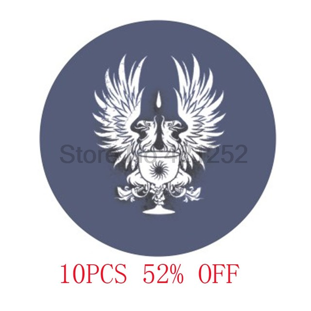 Online Shop Dragon Age Grey Warden Commander Emblem Necklace In Blue