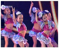 girls skirts 2017 the new kids ballroom dresses dance costumes for kids Sequin jazz dance