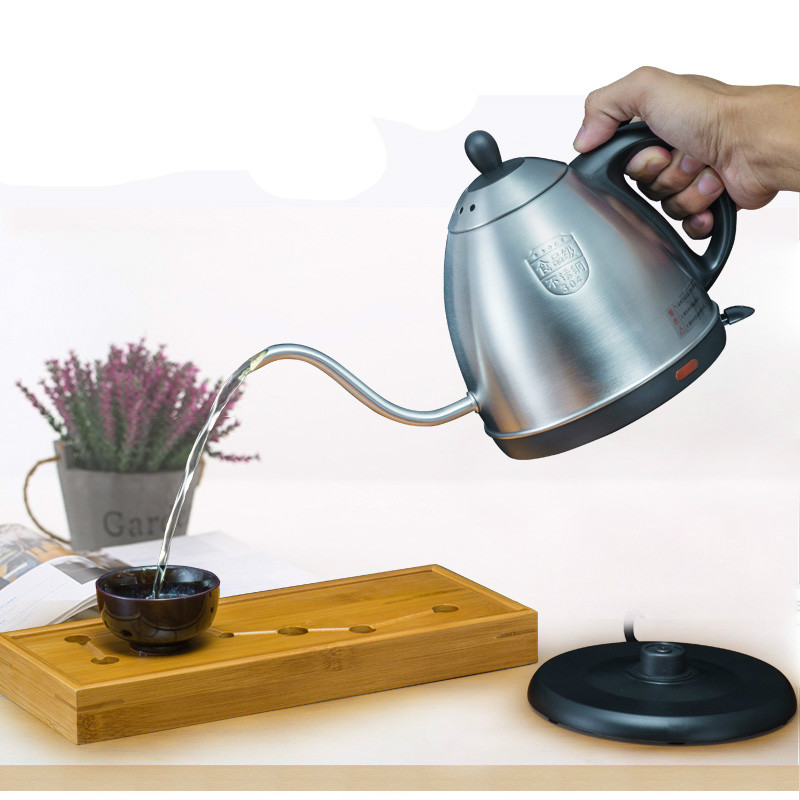 NEW Small electric kettle long mouth stainless steelNEW Small electric kettle long mouth stainless steel