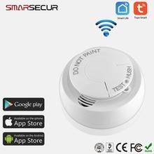 WiFi Smart Smoke Detector Wireless Fire Sensor smart life app