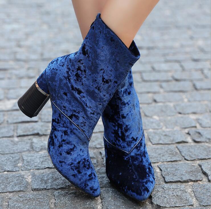 Mediados 8cm Mujer Otoño Super De Calientes La 1 becerro Botas Mujeres Alta 2018 Zapatos 2 Plataforma up De Invierno Mantener qvzfvwC