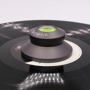 Image 5 - 2018 NEW Viborg LP190H LP Vinyl Turntables aluminium Disc Stabilizer Record Weight HiFi