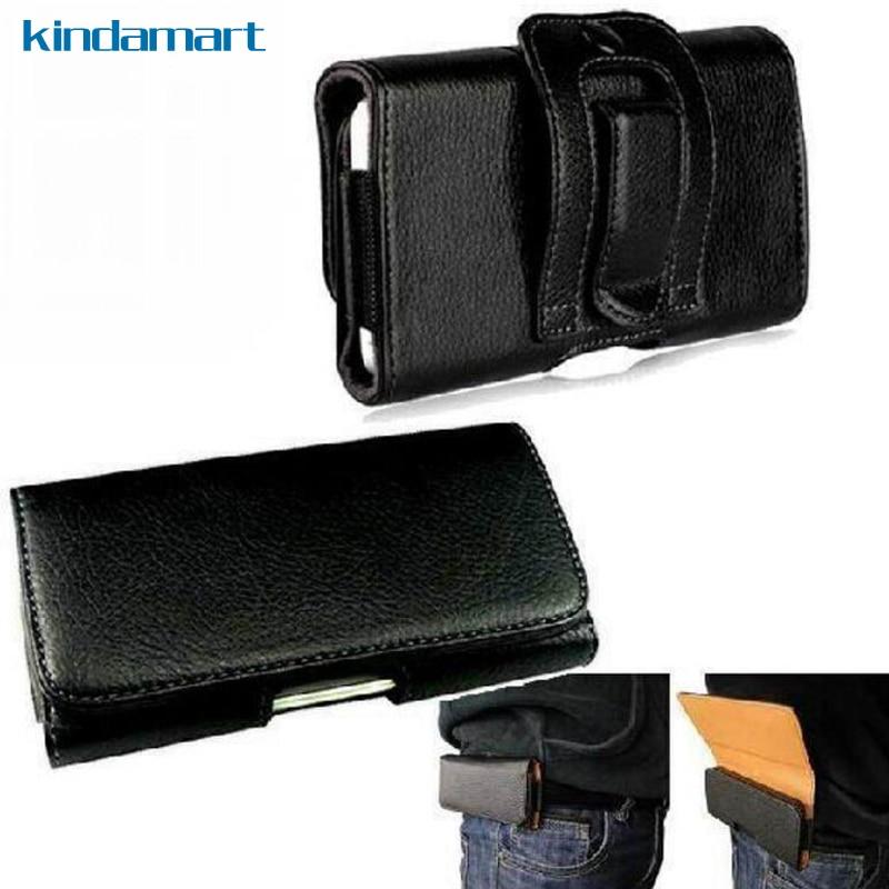 234d98c65e55 Pour HTC Desire 10 cas taille sac ceinture clip holster couverture de poche  case housse en cuir flip pour HTC Desire 10 pro Double SIM D10w