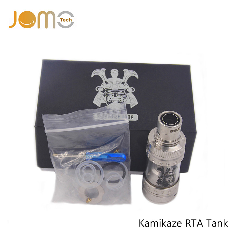 314 Stainless Steel Rebuildable Atomizer Kamikaze RTA Tank Sub Ohm Electronic Cigarette DIY Atomizer for All