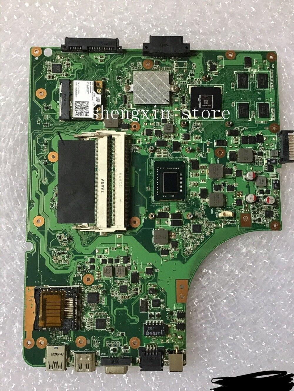Para Ordenador portátil Asus K53SD placa madre REV 6,0 con i3 CPU GT610M 2G K53SD A53S placa base 100% de prueba